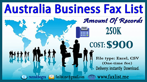 Australia Business Fax List In 2020 Singapore Business Accounting Services List