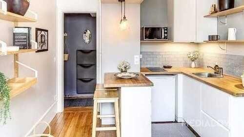 Wanita mana yang tidak ingin punya dapur rumah yang cantik ...