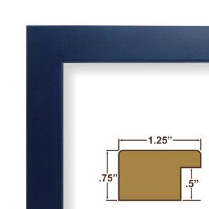11x17 Picture Frame Poster Frame 1 25 Wide Complete Blue Colori Frame 26025 This Frame Is Manufactured In The Usa Custom Picture Frame Craig Frames Frame