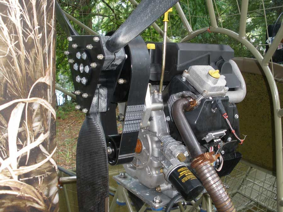 Mini Airboats Most Powerful Stock Engine Like Gear