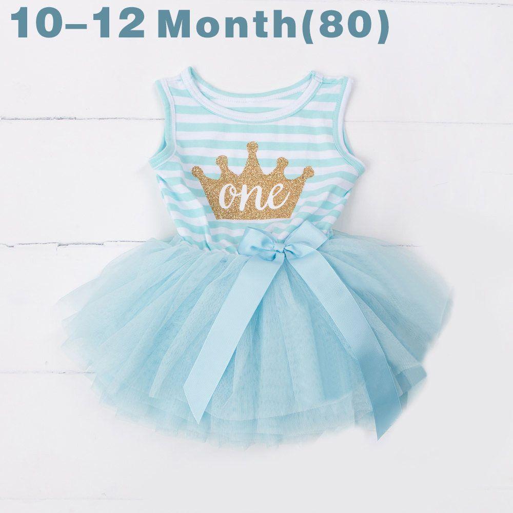 Fashion Summer 2017 Girls Birthday Party One Piece Dresses Stripe ...