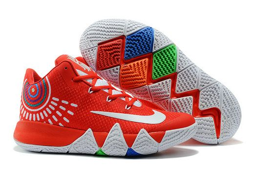 f8e08fe1b715 Cool Nike Kyrie 4 Kyrie Irving IV Shoe Red White Basketball Shoe For Cheap