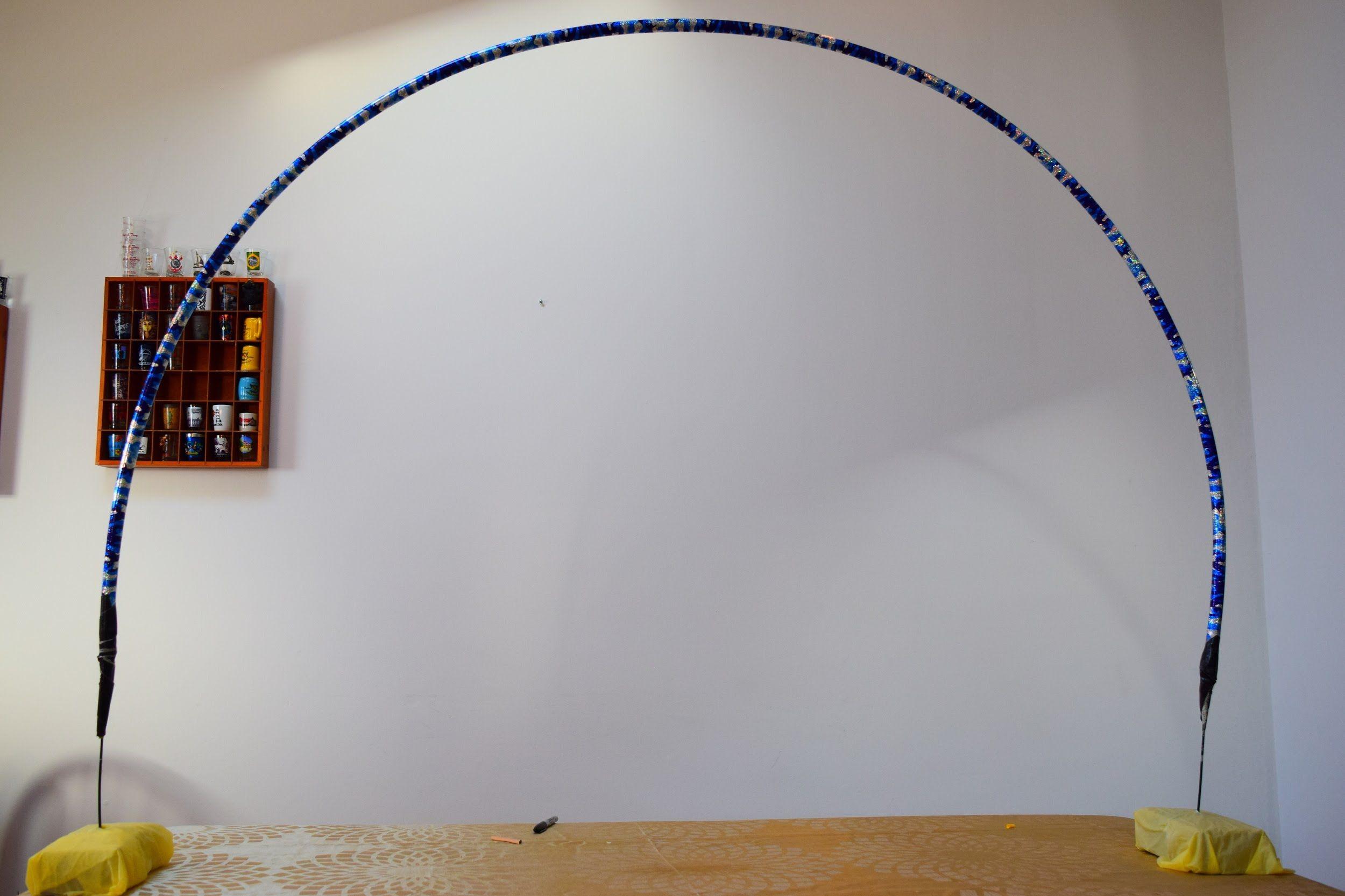 Tutorial Como Fazer Uma Estrutura Para Arco De Baloes Facil E