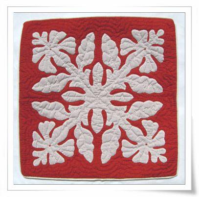 Hawaiian quilted pillow cover #quilt #pillow #hawaii   Art & Art ... : hawaiian quilt pillow covers - Adamdwight.com