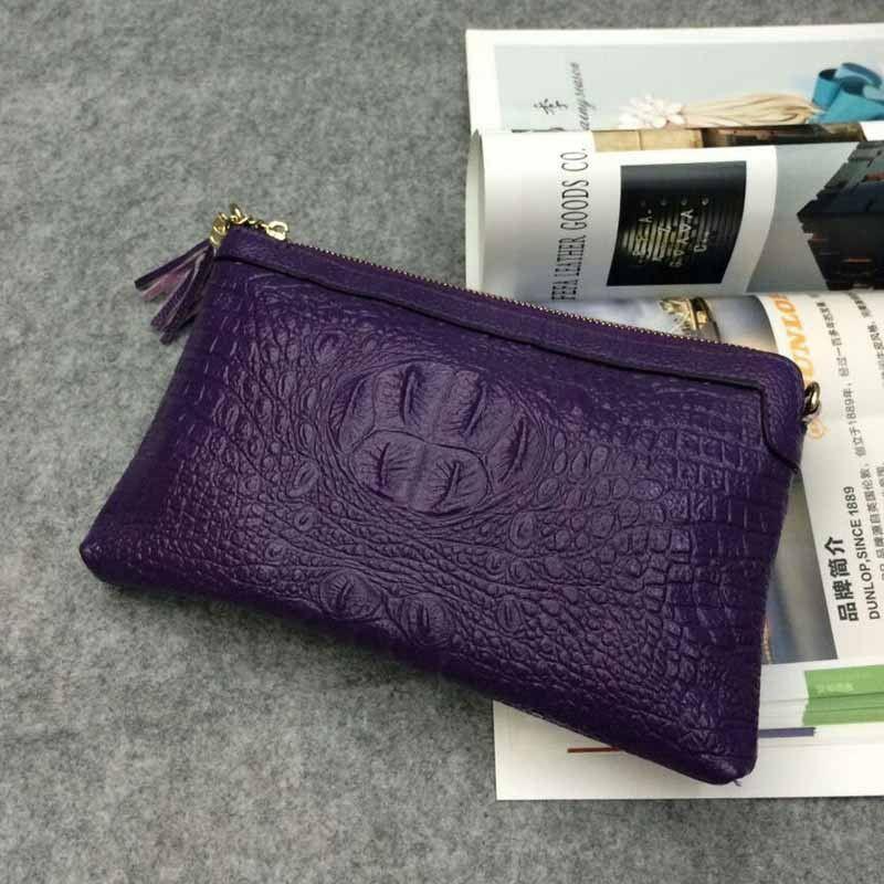 Women Bag 2016 Genuine Leather Bag Evening Female Tassel Women Handbags Shoulder Women Messenger Bags Women Clutches Bags Ladies