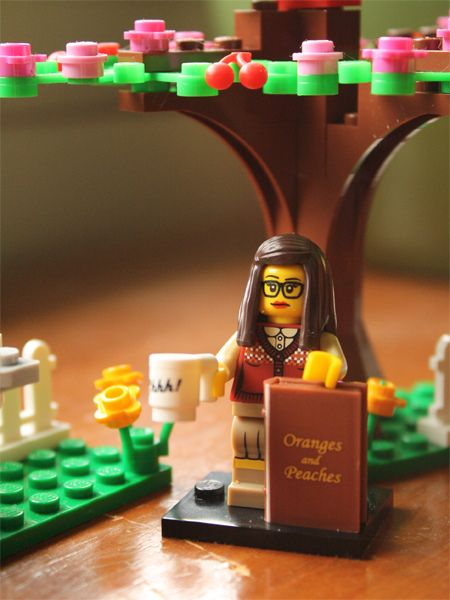 • nomailday: Lego Librarian Minifigure on Flickr.