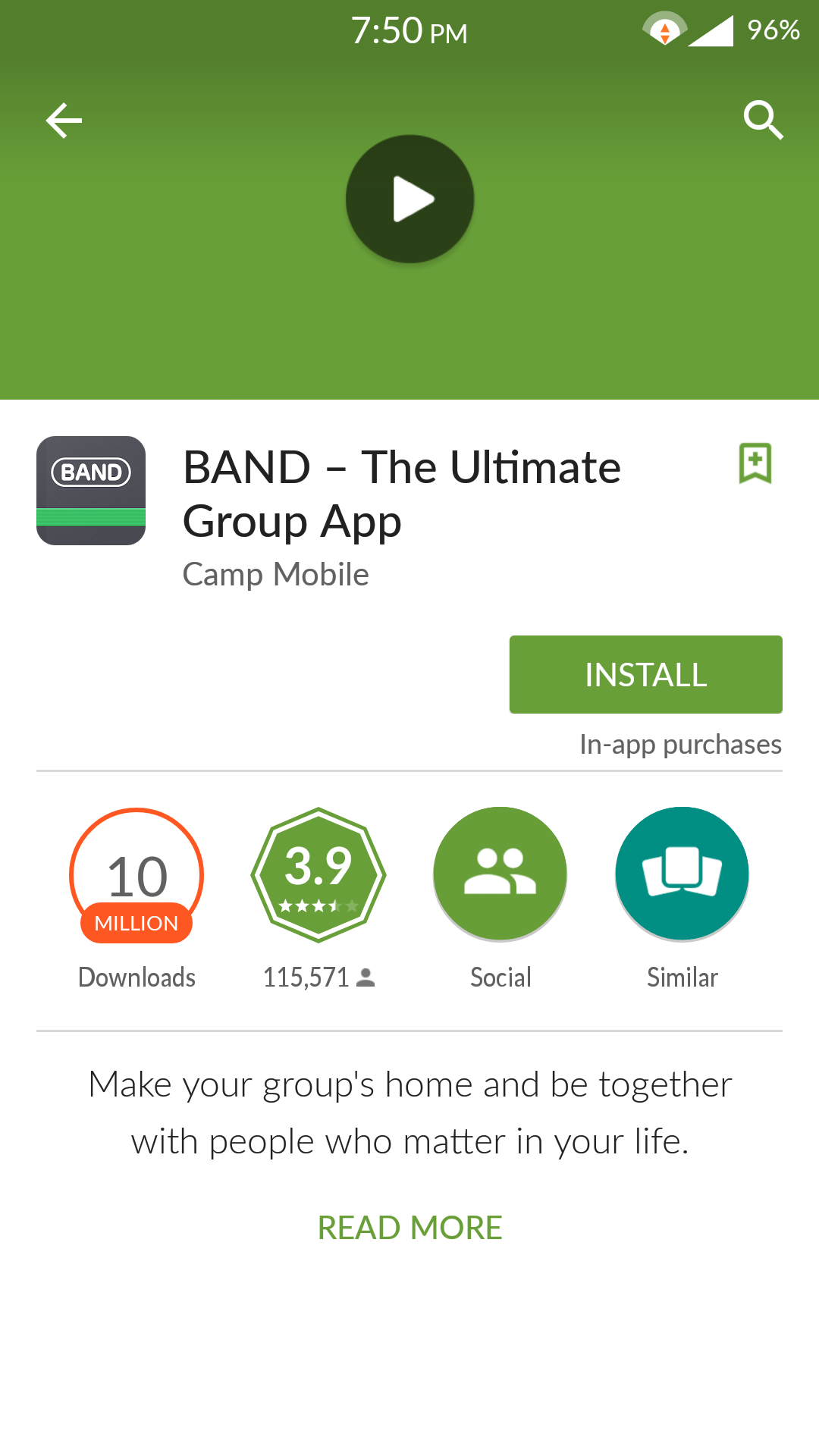 There is a group communication app called Band that can be