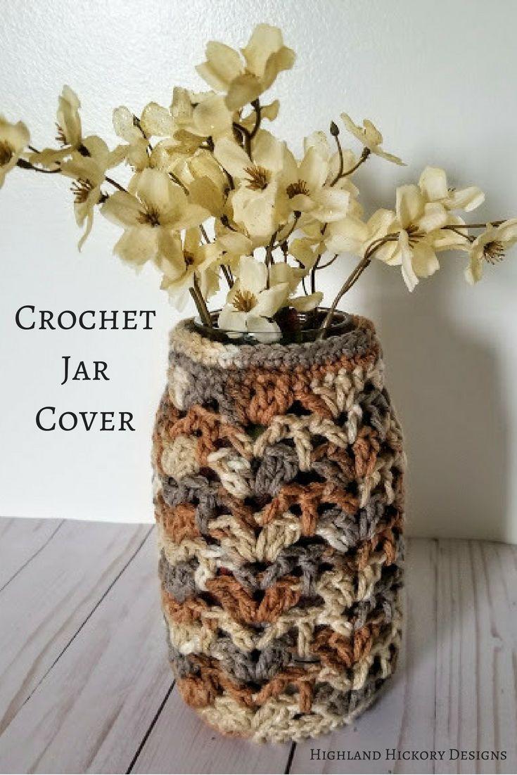 Earthy Luminary - Free Crochet Pattern | Pinterest | Easy patterns ...