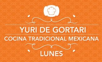 YURI DE GORTARI tu cocina Once Mx. Excellent Mexican recipes all in Spanish