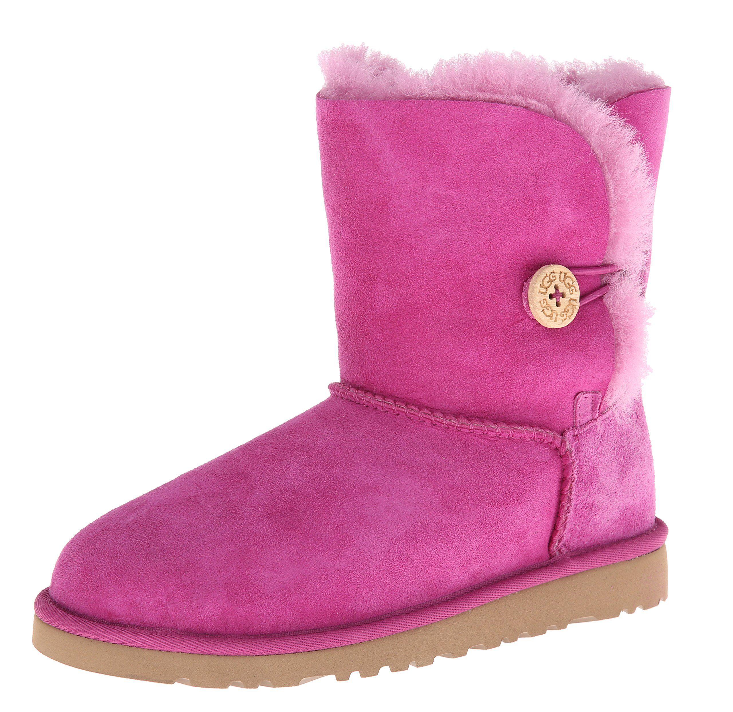 94f4b628410 UGG Kids' Bailey Button Boot Toddler/Preschool (Victorian Pink 10.0 ...