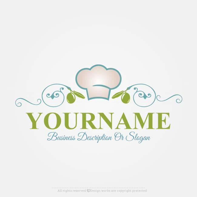 Online Free Logo Maker Chef Hat Logo Design Free Logo Logo Maker Catering Logo