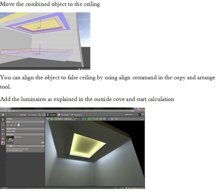 DIALux evo Tutorials DLX-T | Cove lighting, Evo, Lighting ...