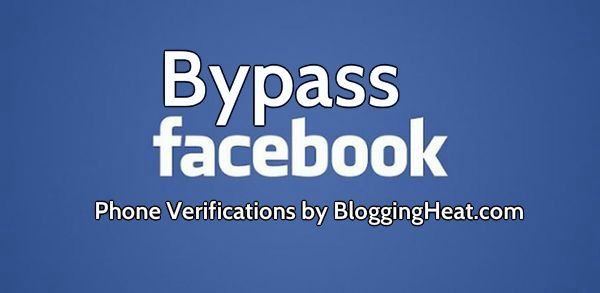 Check this newly invented method to bypass facebook phone