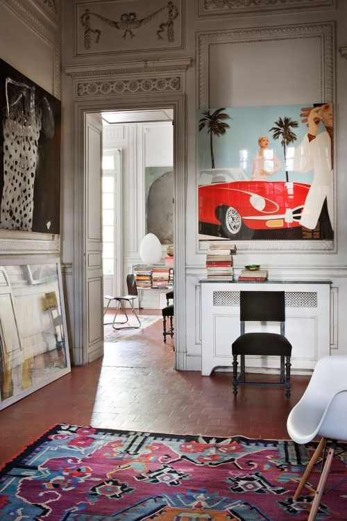 Source: AD España More from that house featured yesterday. I love the eclecticism of this place!