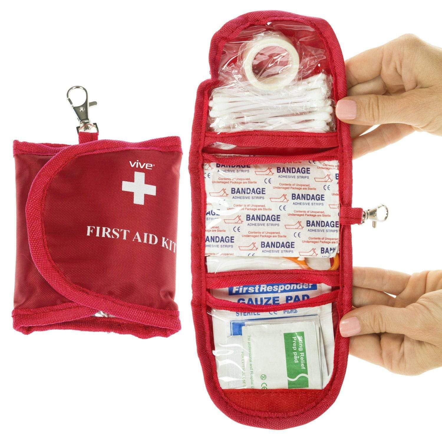 First Aid Kit 65 Pc In 2021 Mini First Aid Kit First Aid First Aid Kit