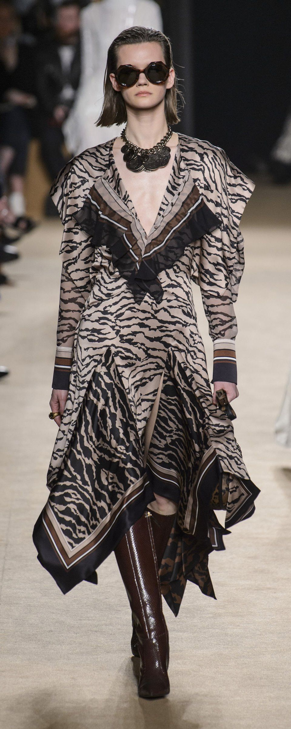 Roberto Cavalli Fall 2019 Collection at MFW