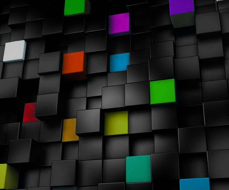 Honeycomb Wallpaper, Black Phone