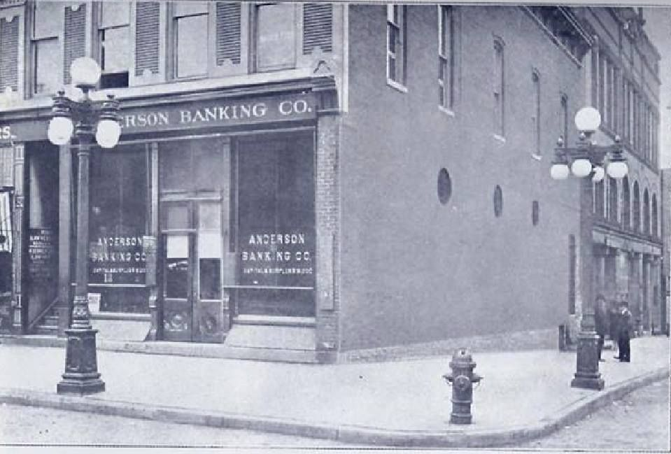 Anderson Banking Co Located At 901 Meridian StreetAnderson Indiana