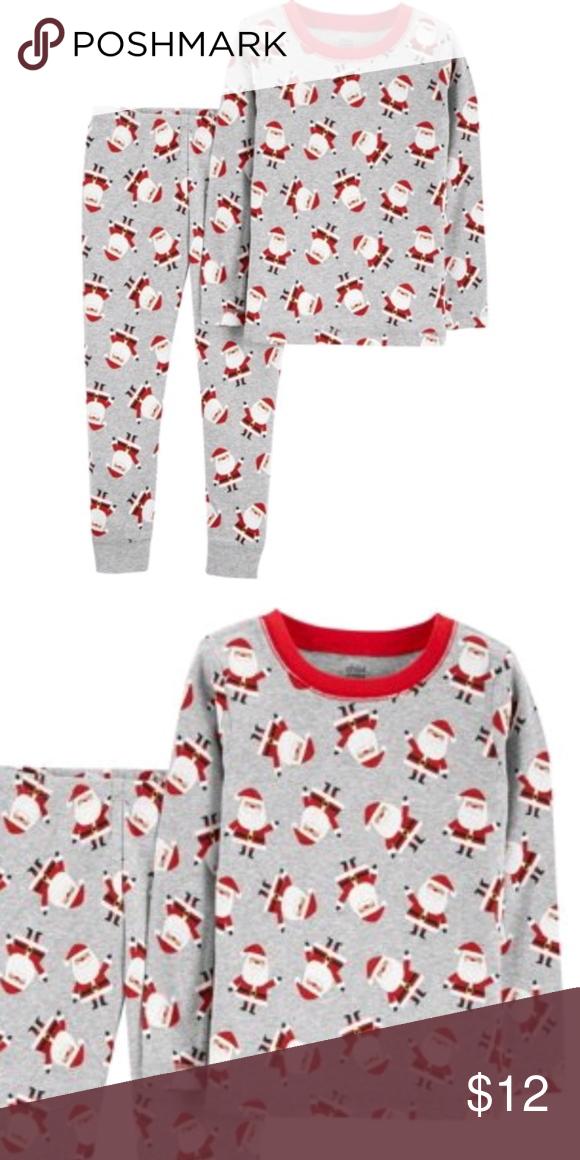29f8954c7 Boys Carter s Santa Christmas 2 Piece Paiamas Set NWT in 2019