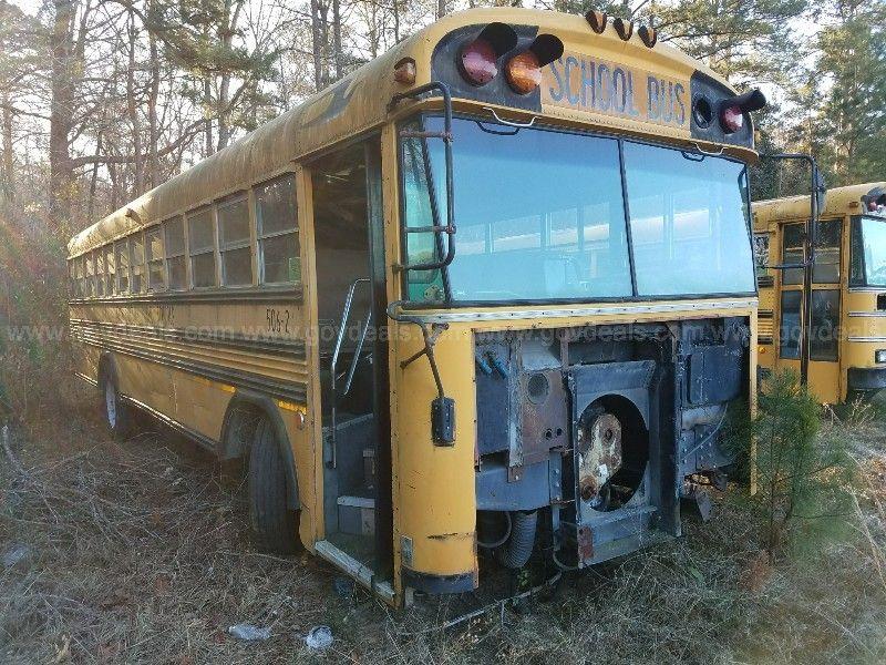 South Carolina Public Schools 506-0002 - 1991 Blue Bird TC
