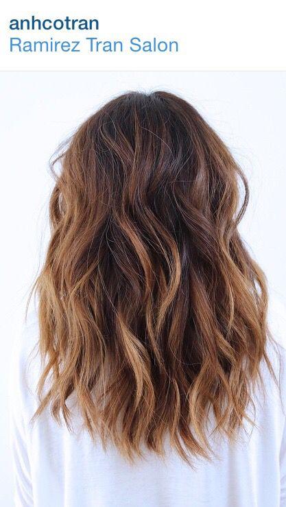Pin Von Carito Larrain Auf Hair Looks Lange Haare Haarfarben Balayage Frisur