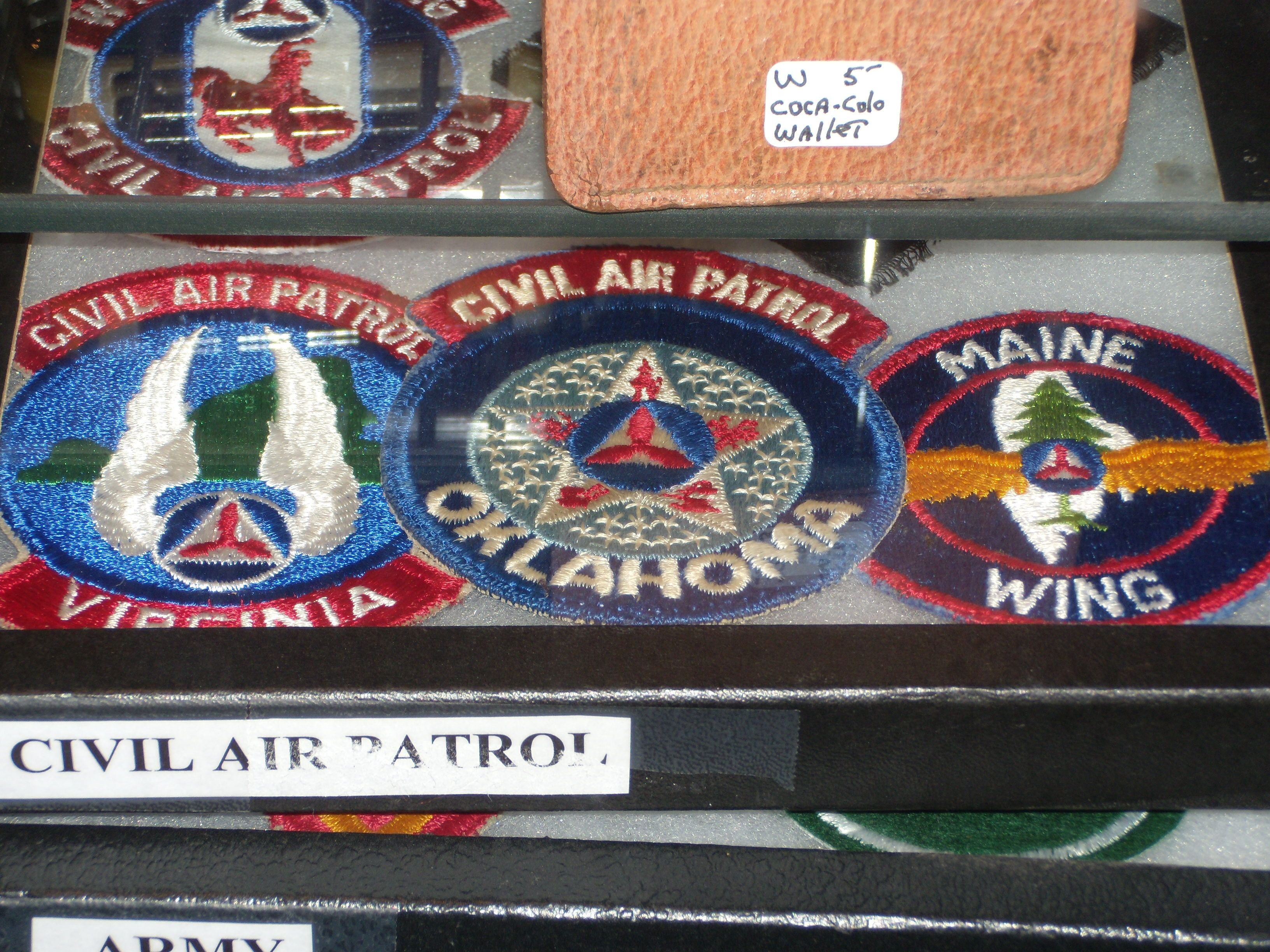 I have Civil Air patrol patches from about every state