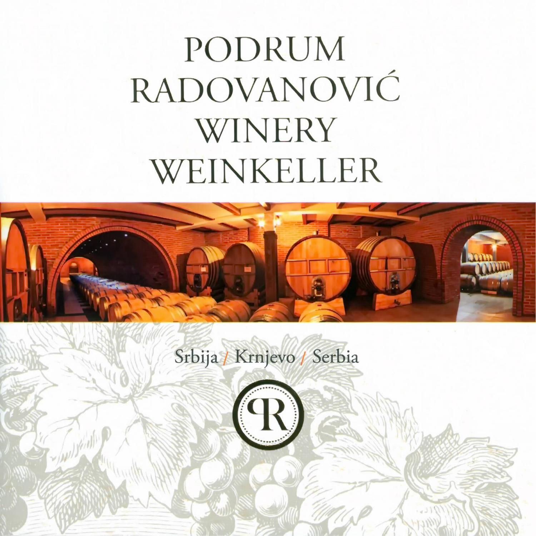 5859 PR Radovanović podrum Winery Weinkeller Srbija ...
