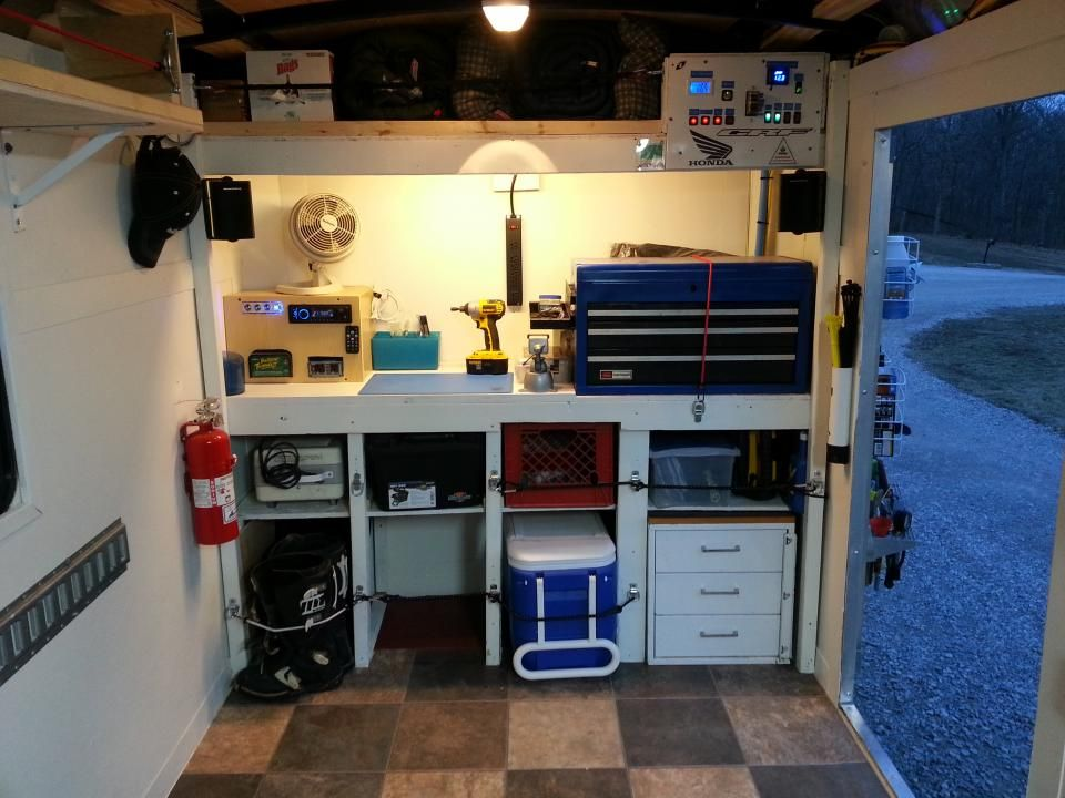 Enclosed Trailer Setups Page 30 Trucks Trailers Rv S Toy