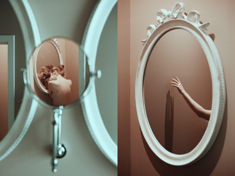 пляжный наряд как фотографировать отражение в зеркале тандем подарил миру