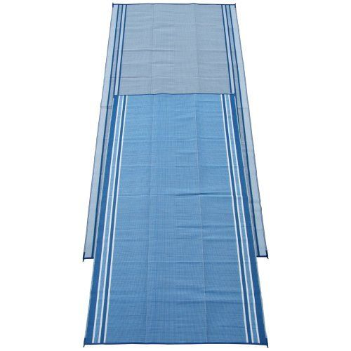 Charmant The Fireside Patio Mats Hawaiian Blue 108 In. Polypropylene Indoor Outdoor Reversible  Patio RV Mat Is Convenient To Clean. It Is Made Of Polypropylene ...