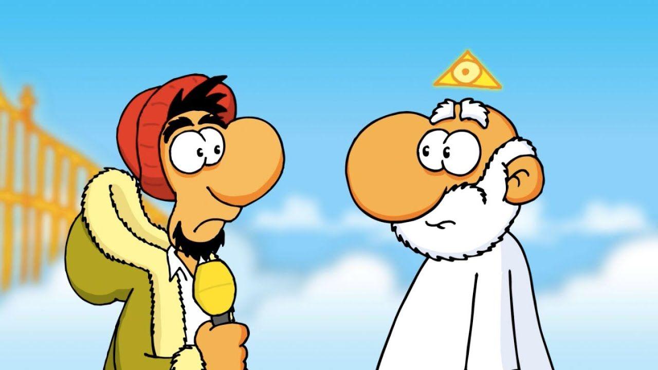 Ruthe.de - Nachrichten - Gott | Ruthe cartoon, Lustige