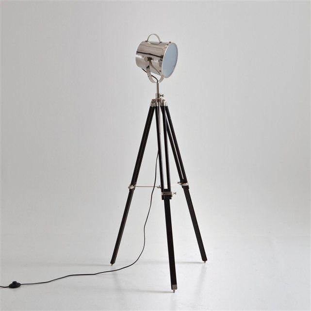 lampadaire tr pied style projecteur de cin ma gibag la. Black Bedroom Furniture Sets. Home Design Ideas