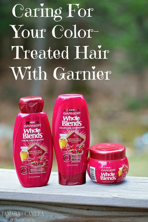 How To Take Care Of Your Color Treated Hair With Garnier Whole