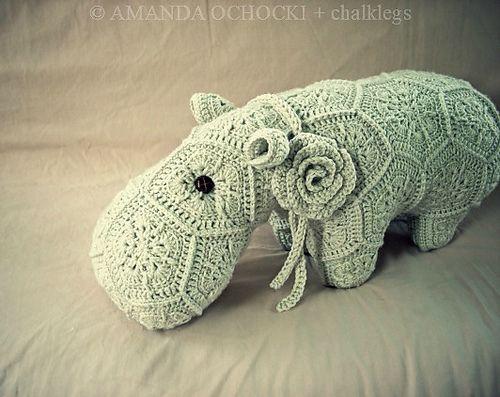Free Amigurumi Hippo Pattern : Happypotamus the happy hippo pattern by heidi bears ravelry