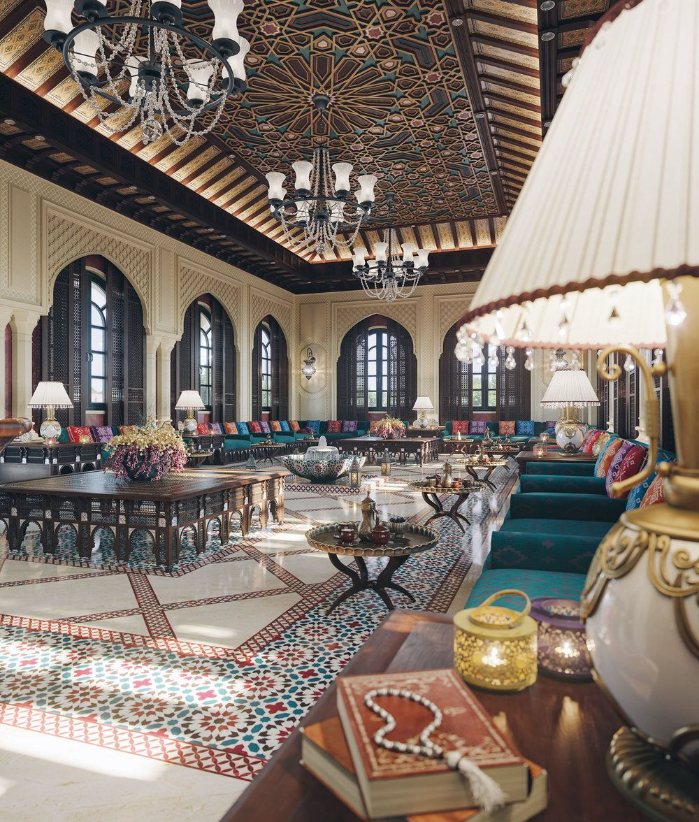"Home Interior Design Decor: "" The Majlis "" By Taher Studio In 2019"