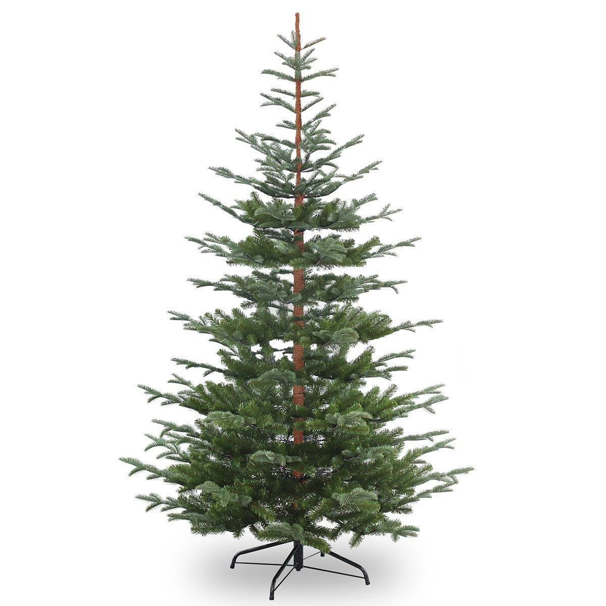 6ft nobleman spruce feel real artificial christmas tree - Artificial Christmas Trees