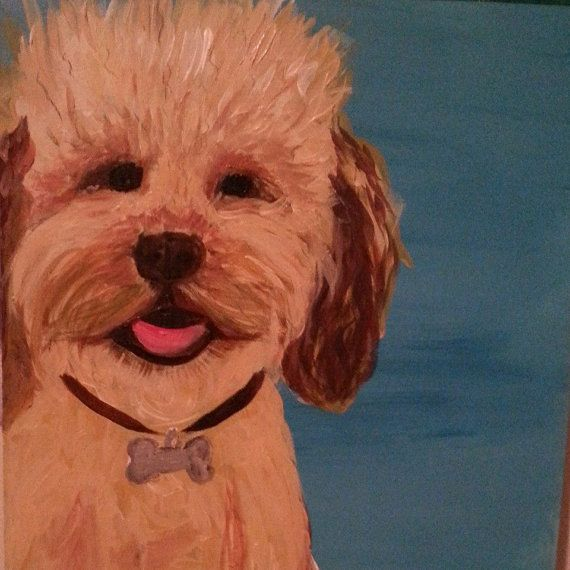 Personalized Pet Portraits by SixHandDesign on Etsy, $100.00