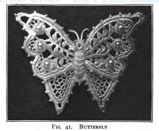 Crochetpedia: 2Д крючком Бабочка аппликация