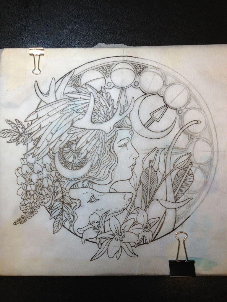 Artemis Symbol Tattoo Google Search Tat Pinterest Tattoos