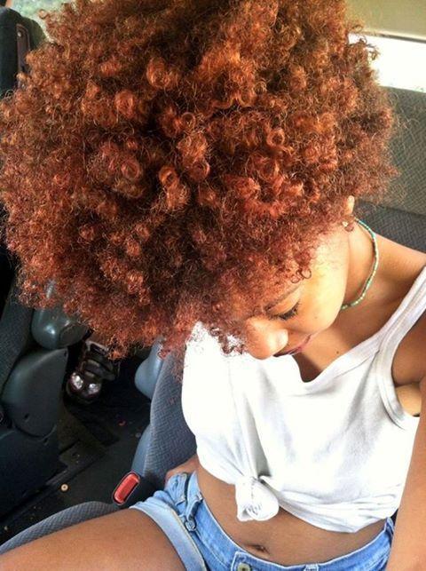 Tan Skin Auburn Hair