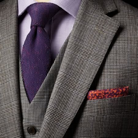 Prince Of Wales Hanover Check Slim Fit Suit Since The Austin Reed Plaid I Ordered Was Out Of Stock We Ll Try This Mens Suits Suits Prince Of Wales Suit