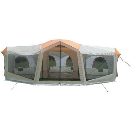 Ozark Trail 10 Person 24 X 17 Family Cabin Tent Family Tent Camping Camping Canopy Family Tent