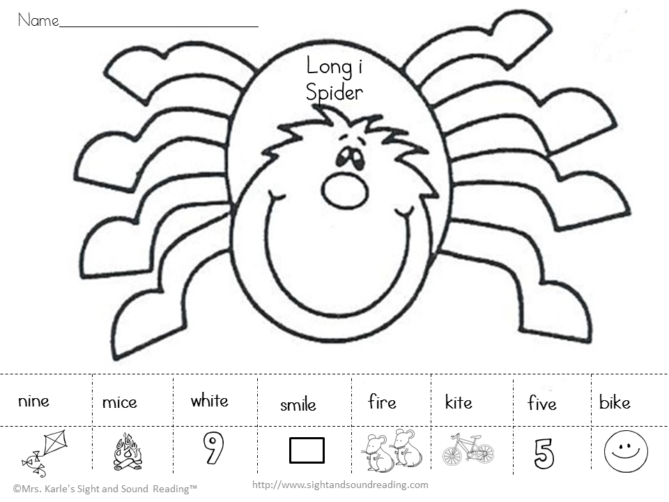 Itsy Bitsy Spider Activities – Spider Worksheets