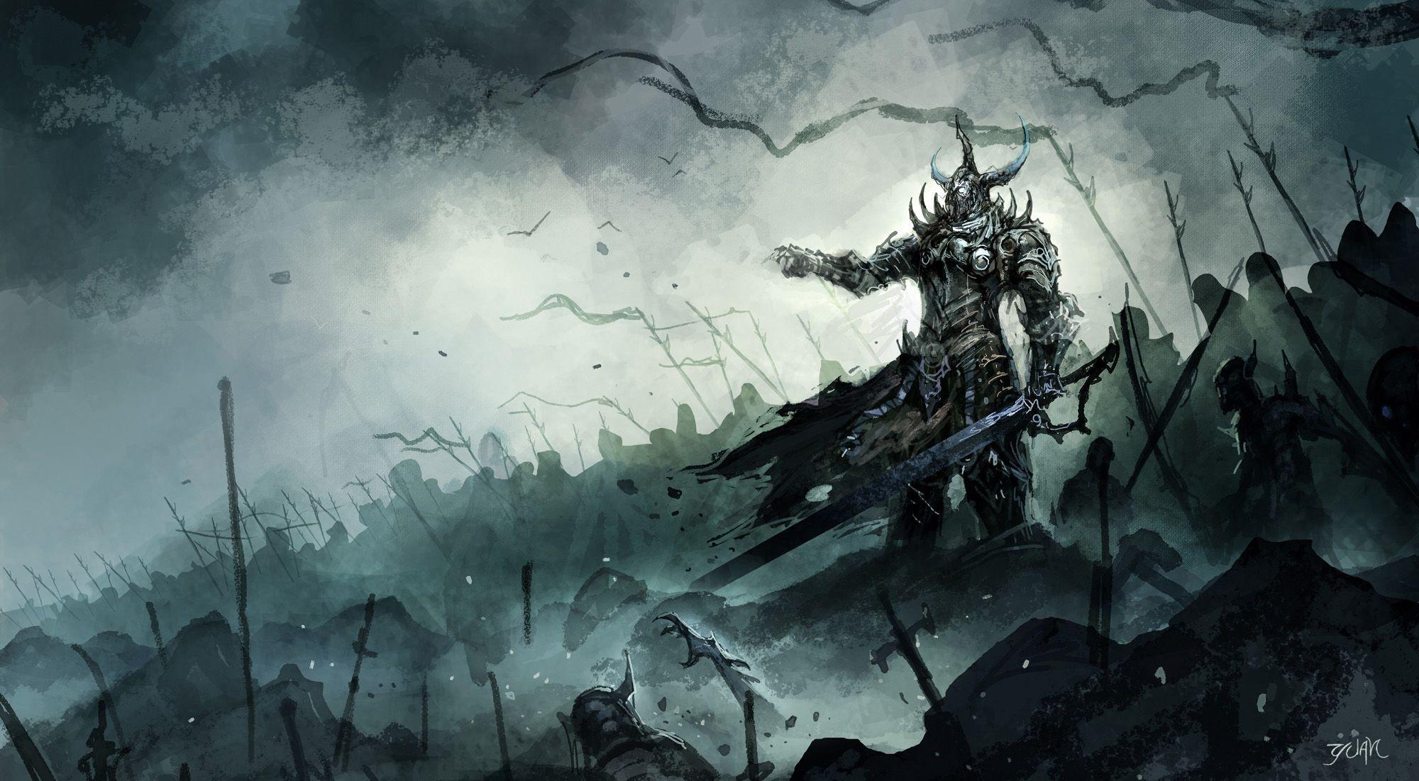 Epic Fantasy Wallpapers Dark Hd Art Warriors Wallpaper Fantasy Drawings