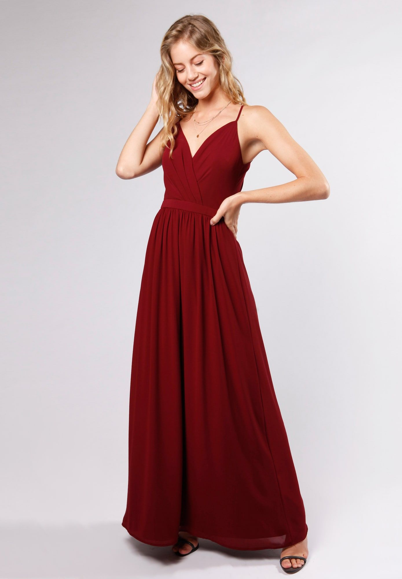 Young Couture By Barbara Schwarzer Kleid Damen Bordeaux Grosse 44 Young Couture Schwarzes Kleid Damen Kleider