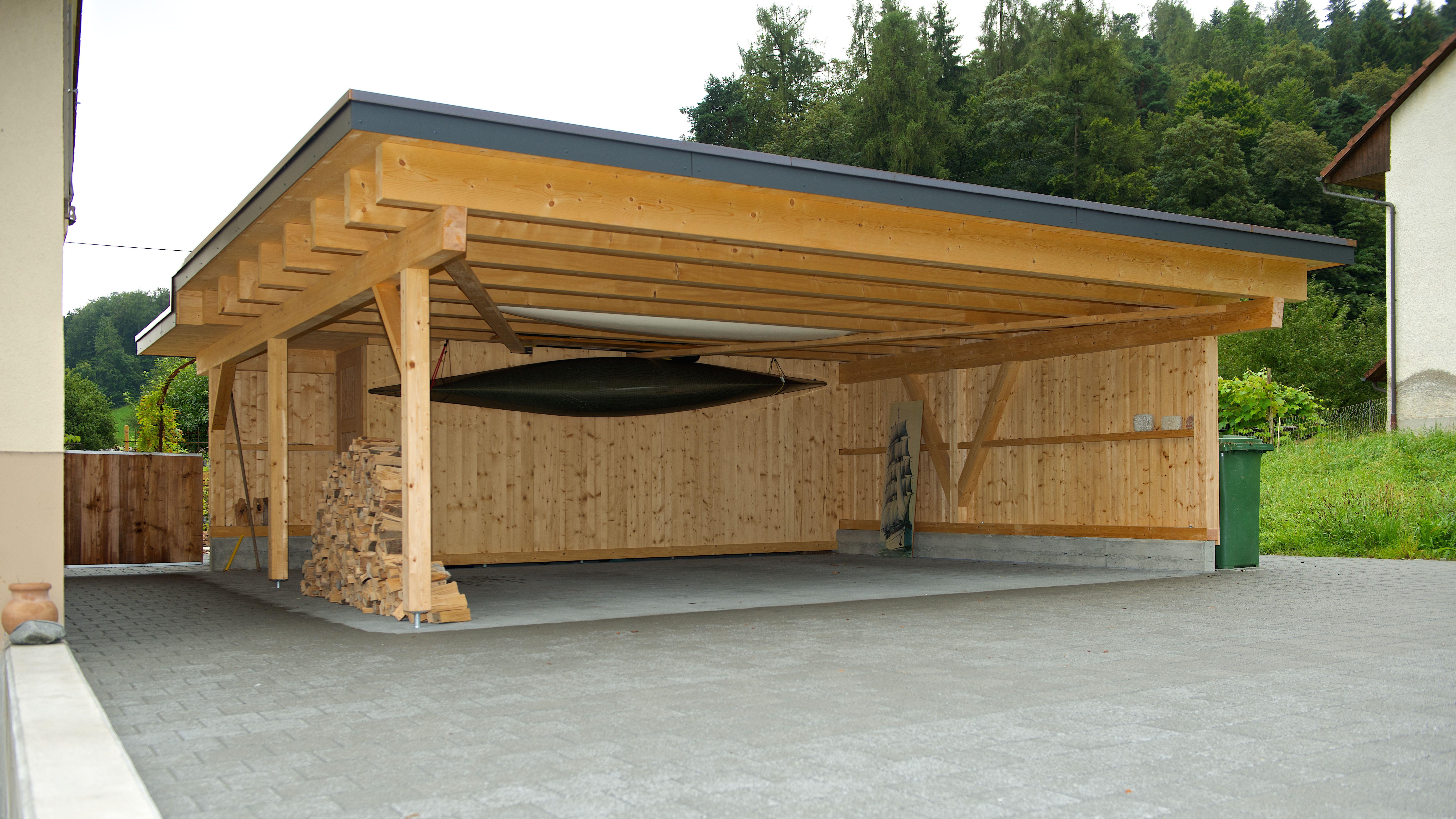 16+ Garage aus holz selber bauen ideen