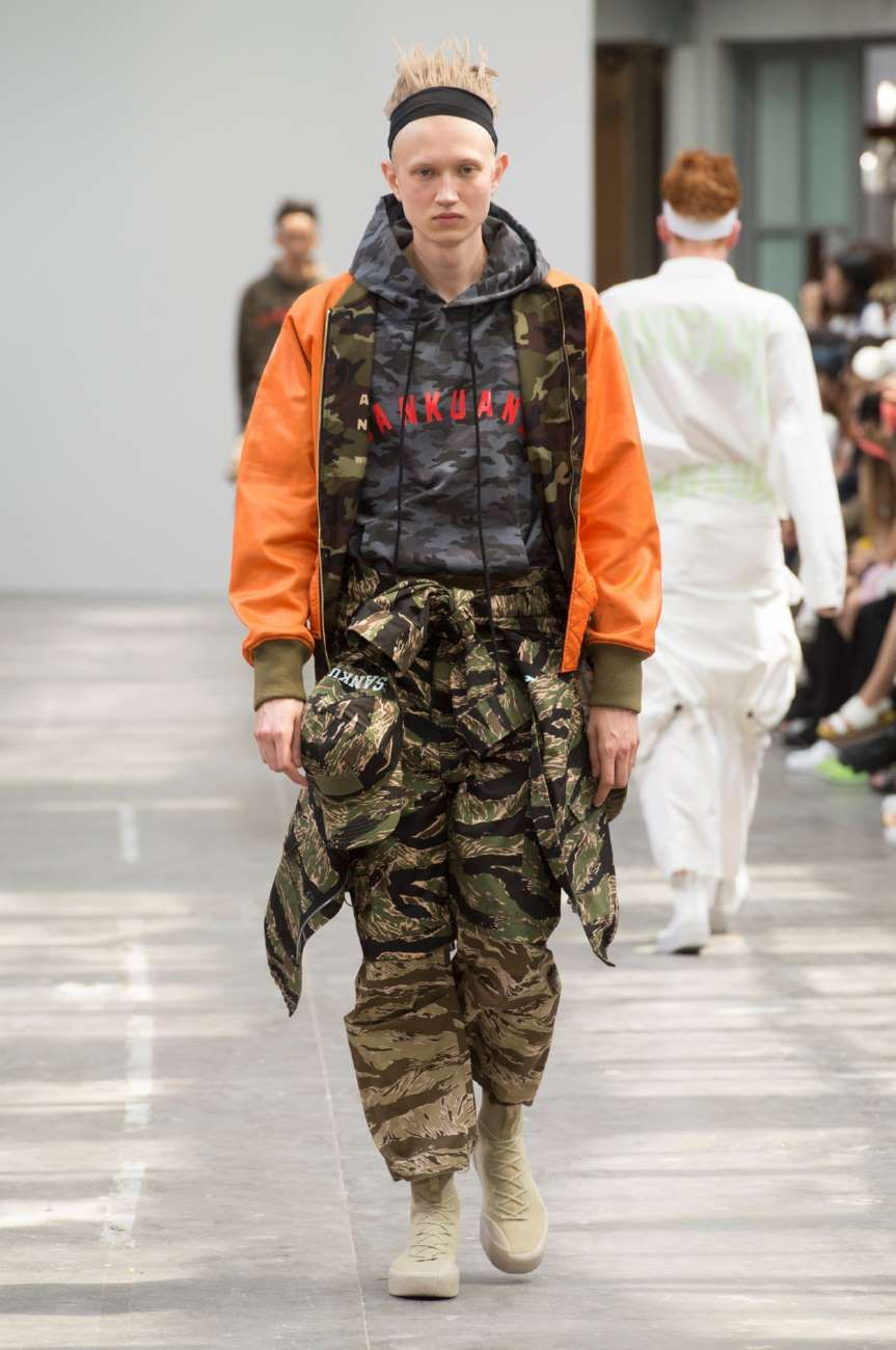 Sankuanz Spring-Summer 2018 | Paris Fashion Week
