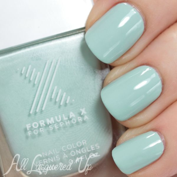 Nail The Trend - Mint Green Nail Polish for Spring | Sephora ...