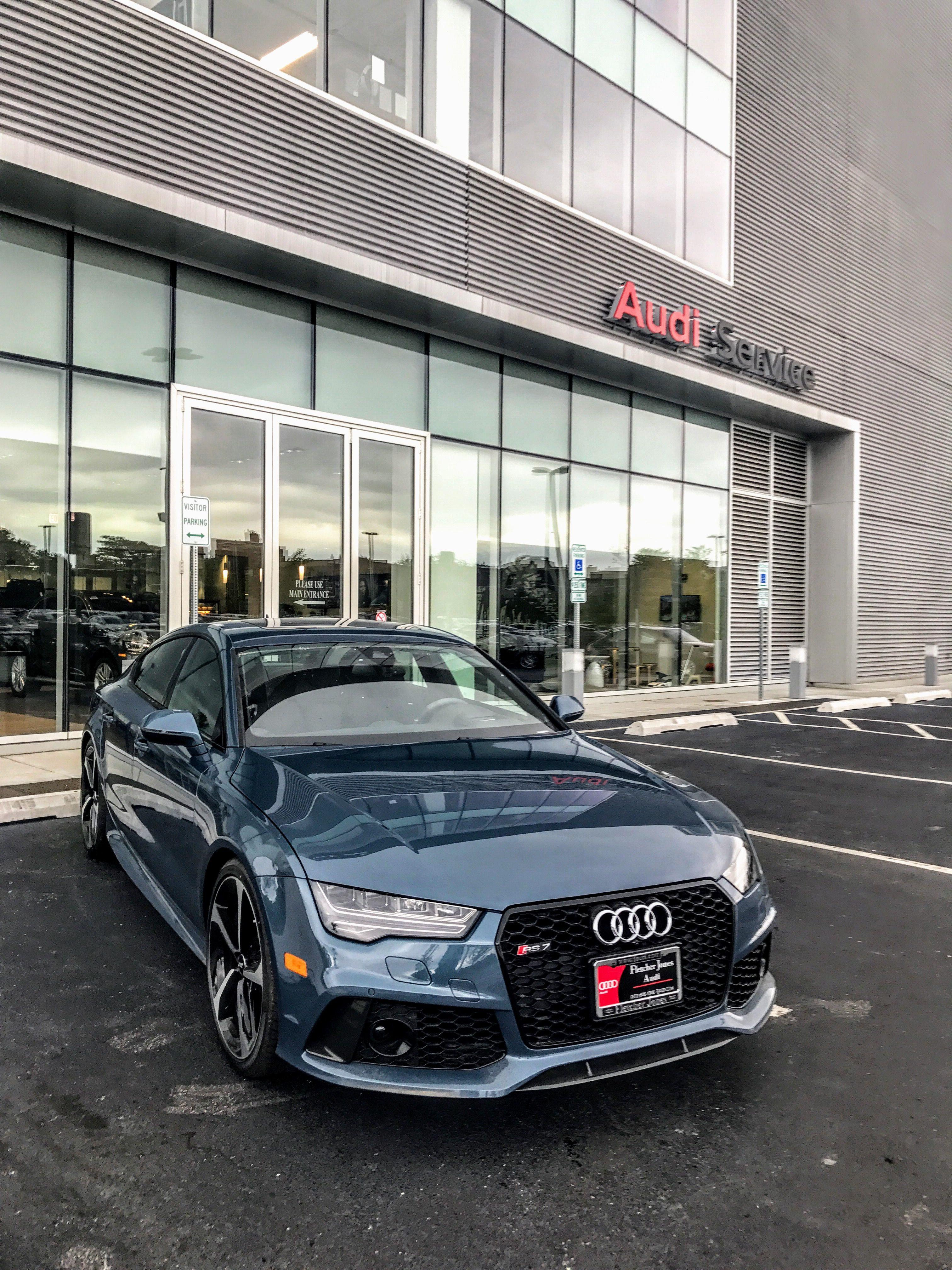 Polar Blue RS7 Audi Exclusive Pinterest