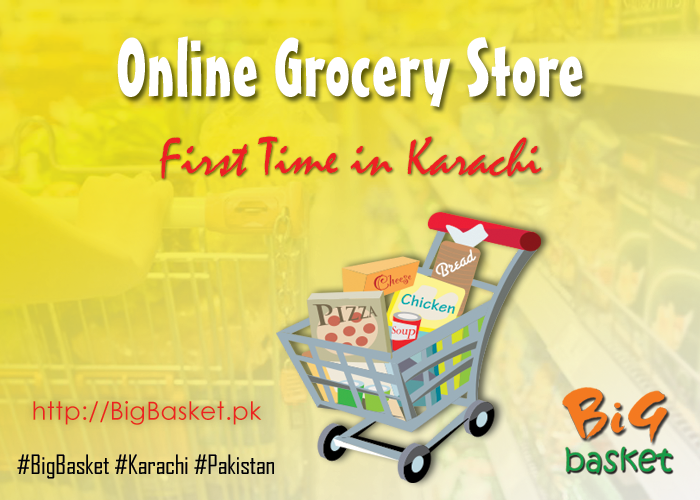 Online Grocery Store first time in Karachi with over 5000 products for shopping via http://BigBasket.pk/  #Karachi #BigBasket #Pakistan #News #Online #Store #Shopping #Grocery #Tuesday #Work #lunch #food #dinner #shop #break #dolmen #mall #hiperstar #naheed #chase #imtiaz #naheed #metro